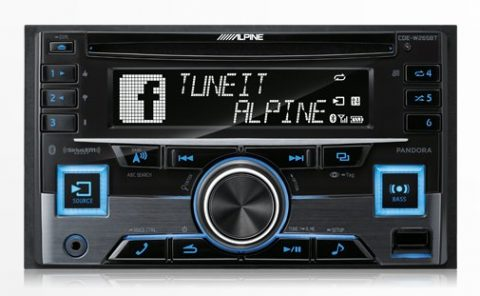 Alpine Bluetooth Advance CD Receiver